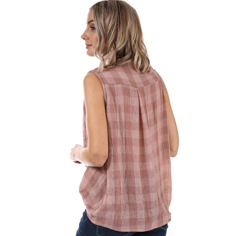 Glamorous Womens Crossover Top Dusky Pink