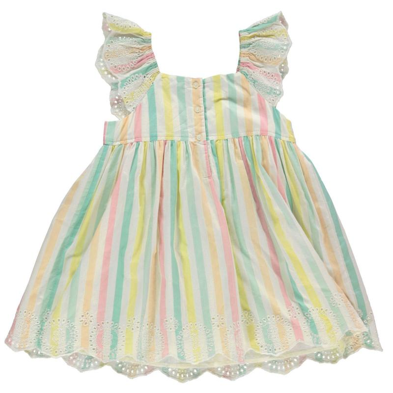 Šaty Crafted Woven Dress Infant Girls Multi Aop