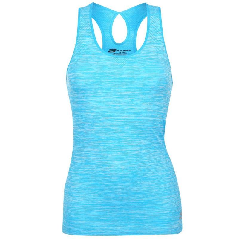 Skechers Seamless Vest Ladies Turquoise