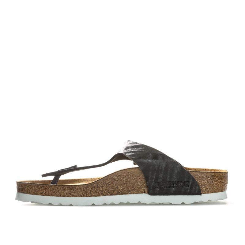Boty Birkenstock Womens Gizeh Sandals Narrow Width Black
