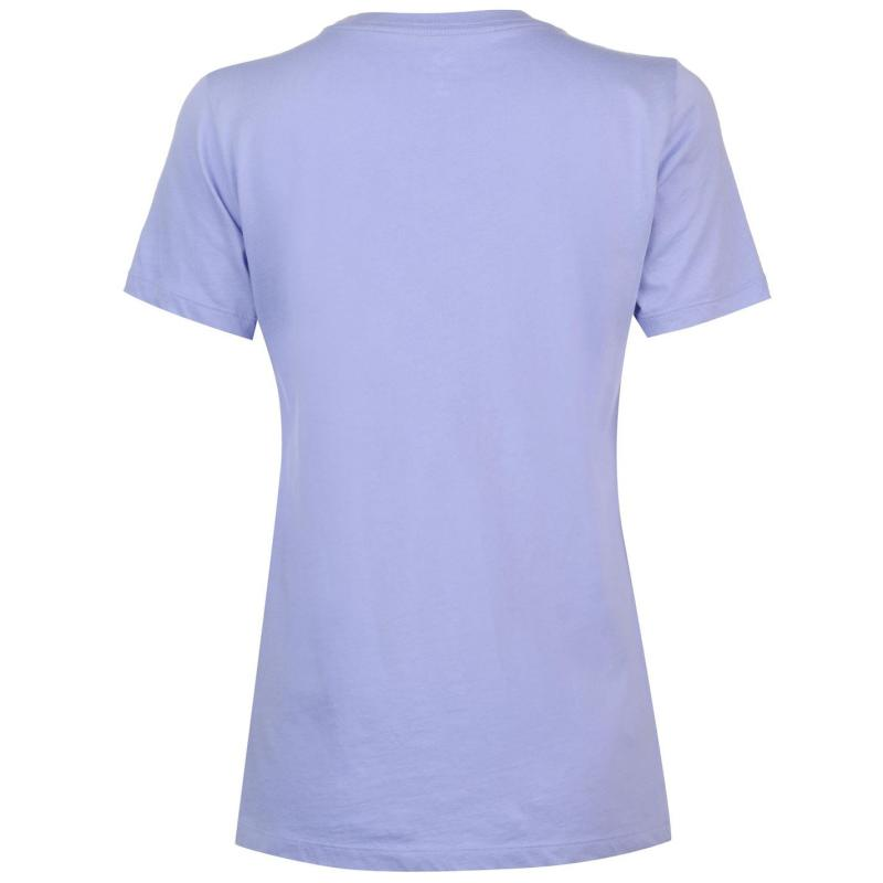 Converse Chest Logo T Shirt Barely Rose