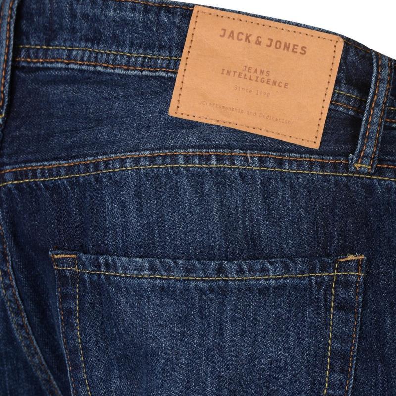 Jack and Jones Jeans Intelligence Rick Denim Shorts Dark Wash