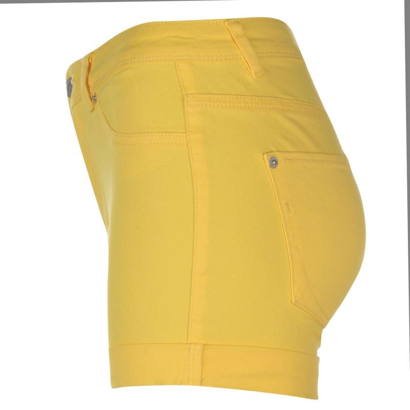 JDY Five Summer Shorts Yellow Denim