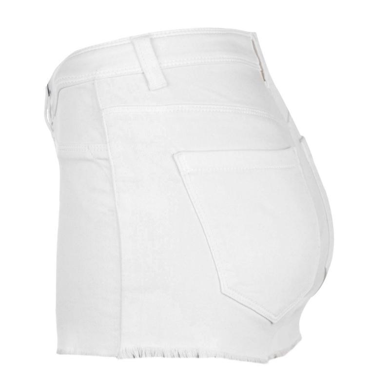 JDY Harmony Shorts White Denim
