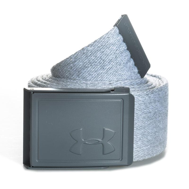 Under Armour Mens Novelty Webbing Belt Grey