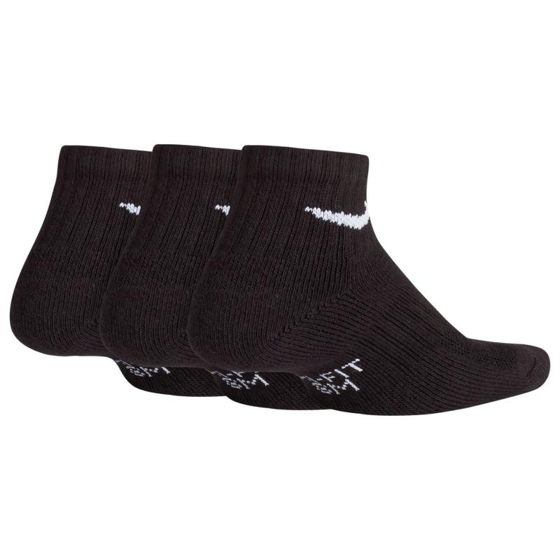 Ponožky Nike Performance Cushion Quarter Socks Junior White/Black