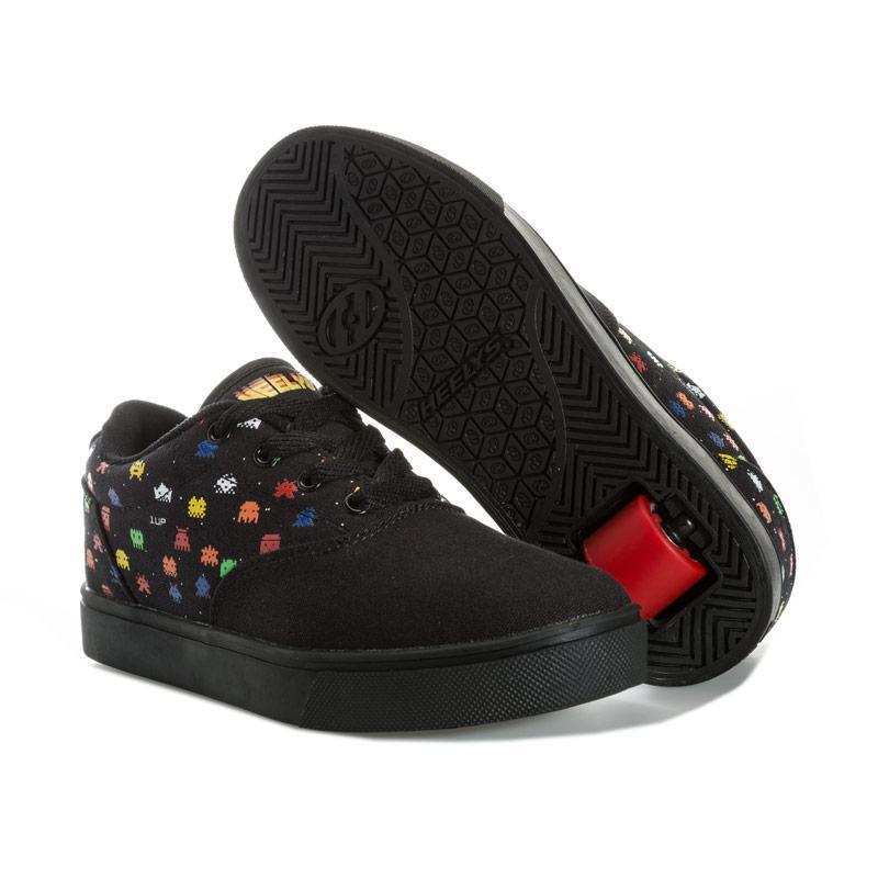 Boty Heelys Children Boys Launch Skate Shoes Black