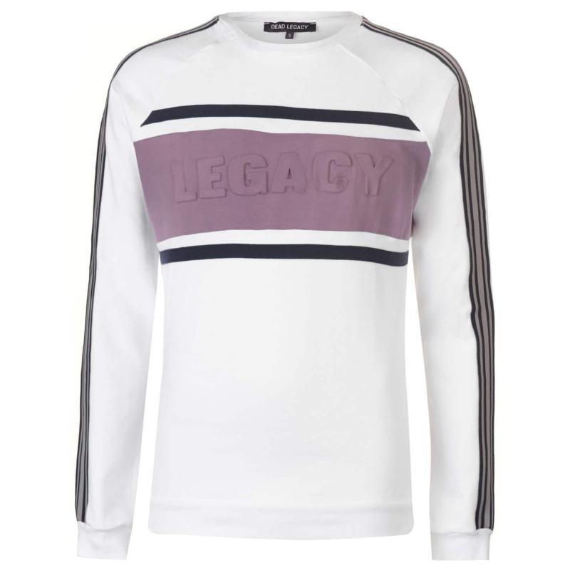 Mikina Dead Legacy Embossed Sweatshirt Navy/Pink