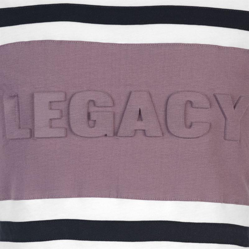 Tričko Dead Legacy Embossed Tee White/Lilac