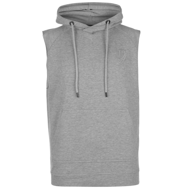 Mikina Dead Legacy Sleeveless Hoodie Grey Velikost - L