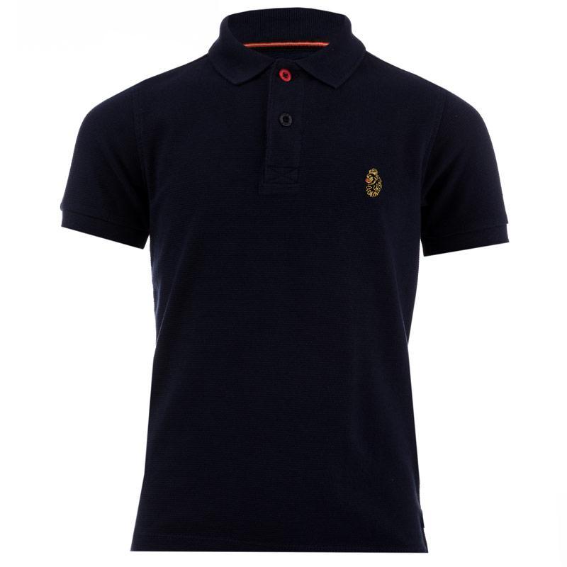 Tričko Luke 1977 Infant Boys Parched Polo Shirt Navy