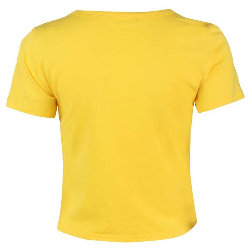 Glamorous Super T Shirt Yellow/Red
