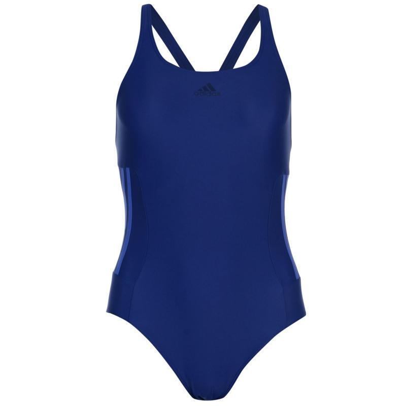Plavky adidas Infinitex Fitness Eco Swimsuit Ladies Mystery Ink