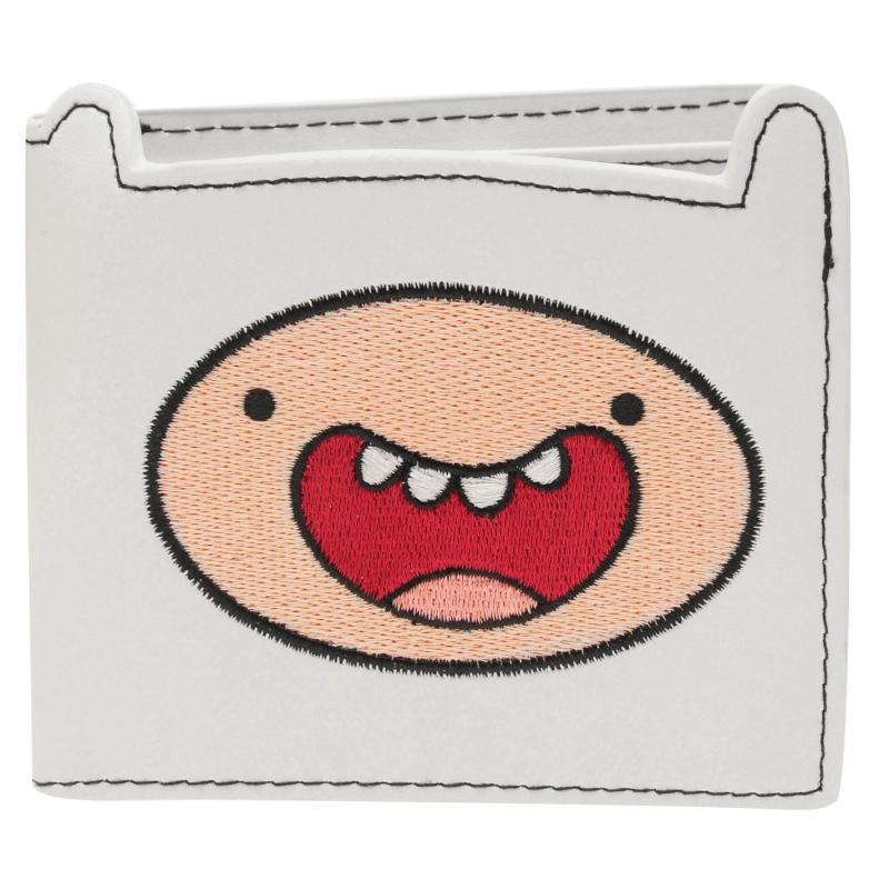 Character Adventure Time Finn Wallet White