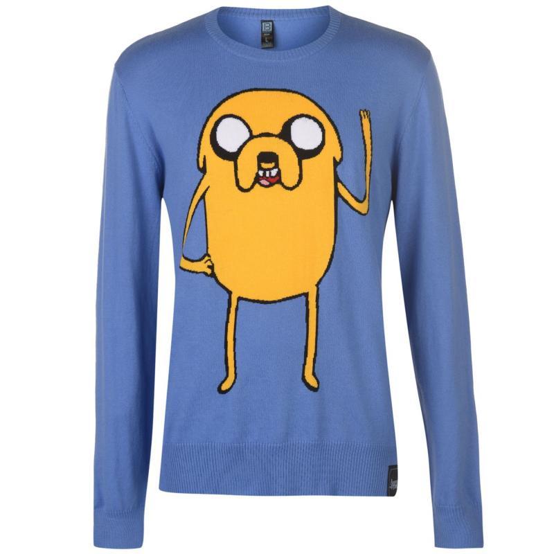Mikina Character Character Adventure Time Jumper Mens Finn