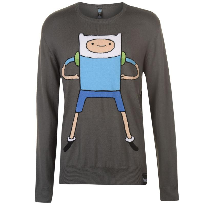 Mikina Character Character Adventure Time Jumper Mens Finn