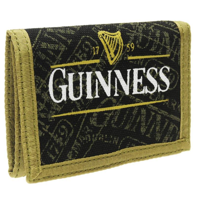 Character Guinness Print Wallet Black