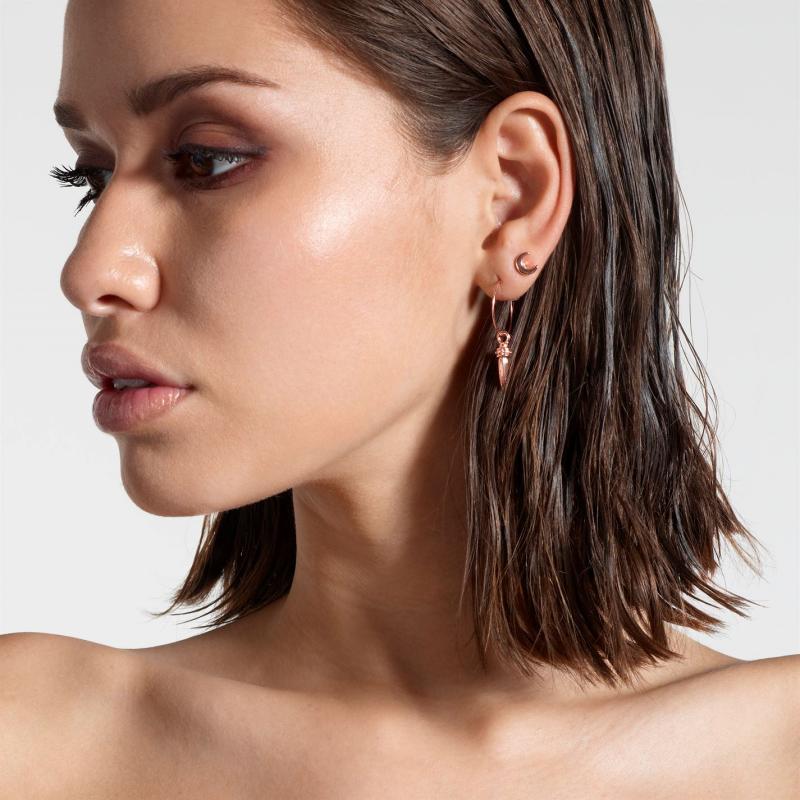 Firetrap Multi Pack Earrings Rose Gold