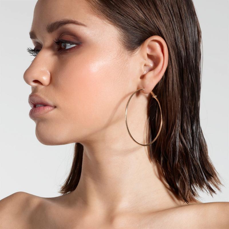 Golddigga Hoop Earrings Gold
