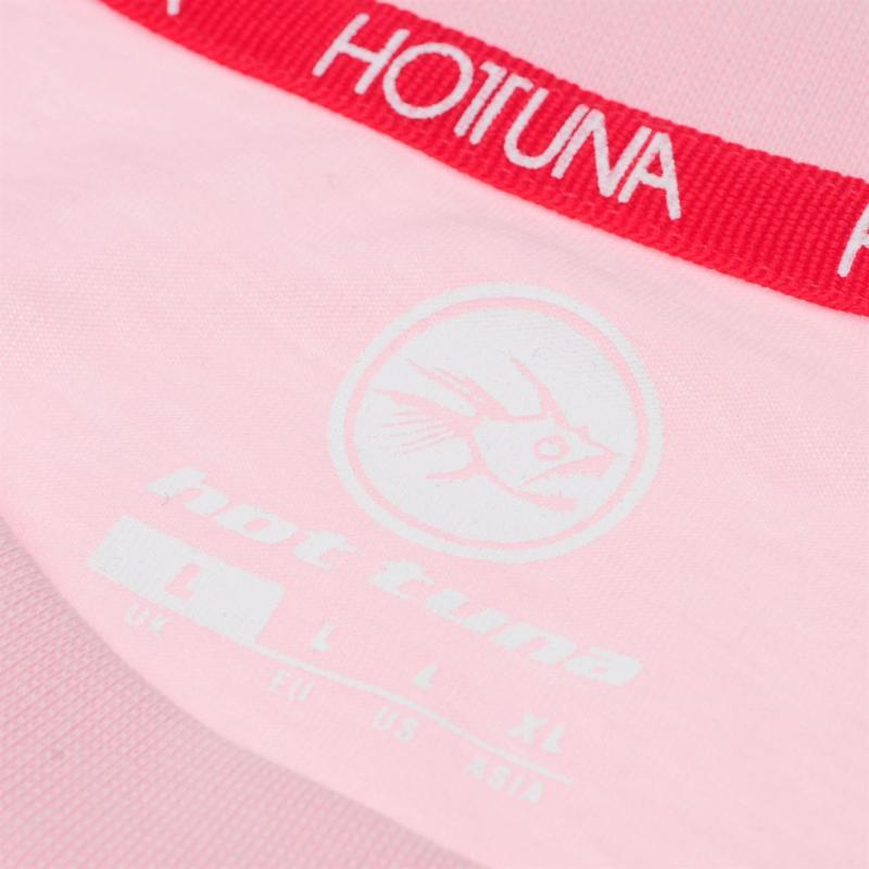 Hot Tuna Fun T Shirt Mens růžová