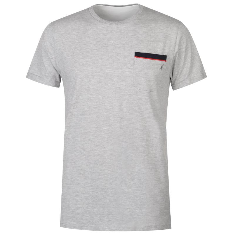 Tričko Kangol Crew Neck T Shirt Mens White