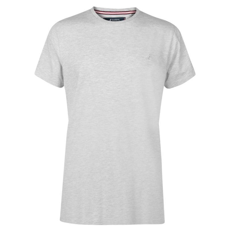 Tričko Kangol Crew Neck T Shirt Mens Navy