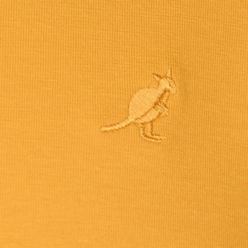 Tričko Kangol Crew Neck T Shirt Mens Mustard
