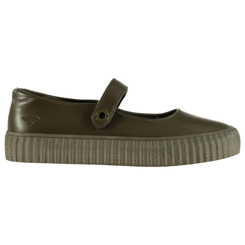 Obuv Rocket Dog Godel PU Ladies Shoes Olive Green