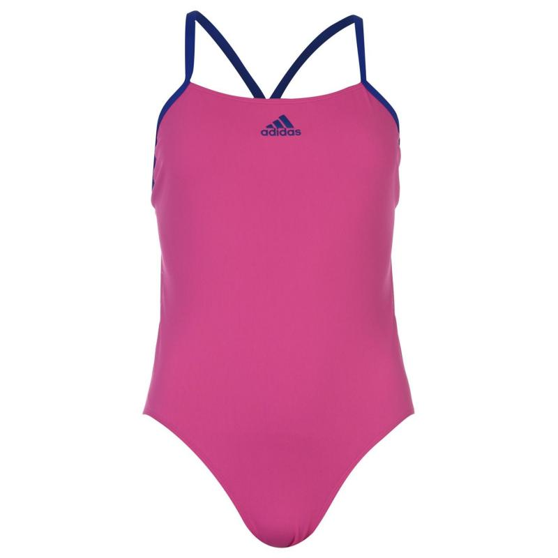 Plavky adidas Performance Swimsuit Ladies Shock Pink