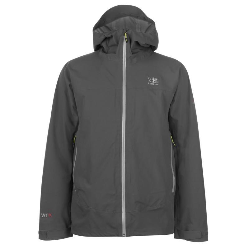 Karrimor Nitrogen Waterproof Jacket Mens Iron