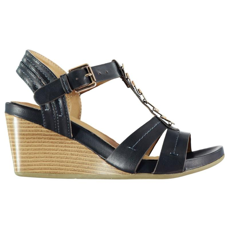 Boty M Collection Detail Ladies Sandals Navy