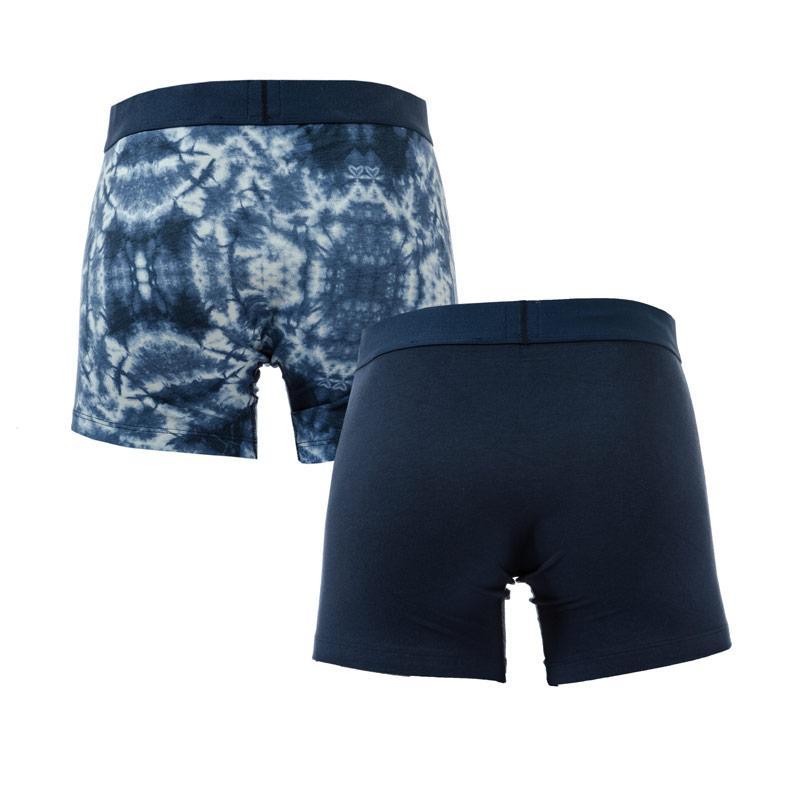 Spodní prádlo Levis Mens Tye Dye 2 Pack Boxer Shorts Indigo