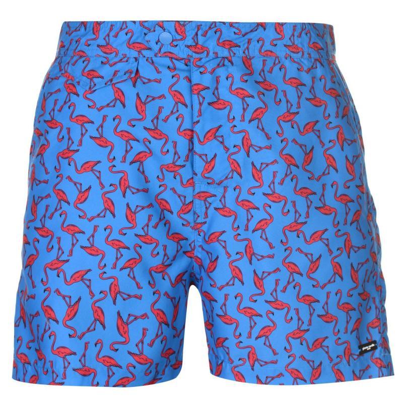 Plavky Pierre Cardin Mix Swim Shorts Mens Royal Flamingo