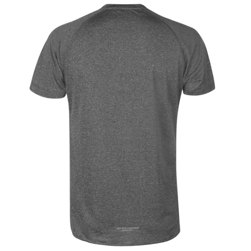 Tričko Skechers Discovery T Shirt Mens Black