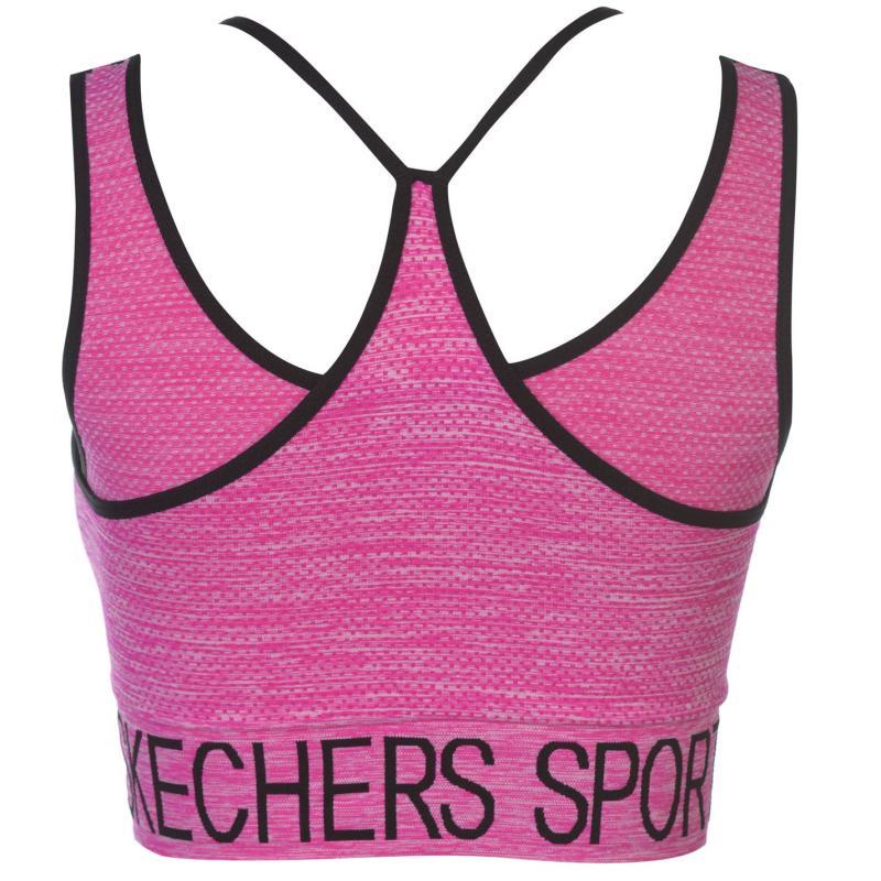 Skechers Seamless Vest Ladies Pink