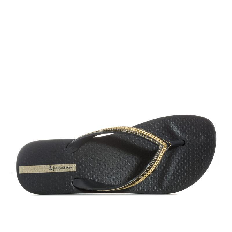 Ipanema Womens Mesh Wedge Sandals Black