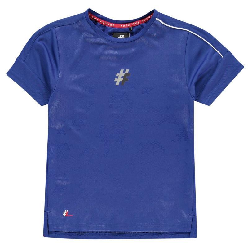 Tričko Five Stadium T Shirt Junior Blue