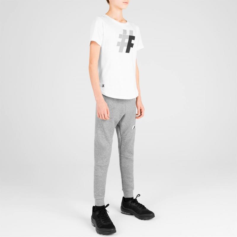 Tričko Five Street Large Logo T Shirt Junior Black Camo