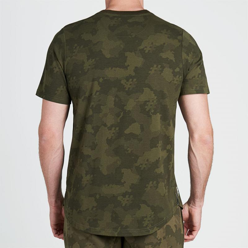Tričko Five Street Small Logo T Shirt Mens Camo
