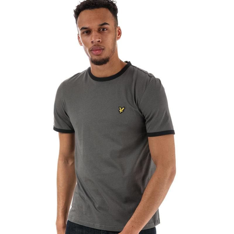 Tričko Luke 1977 Mens Ringer T-Shirt Navy-White