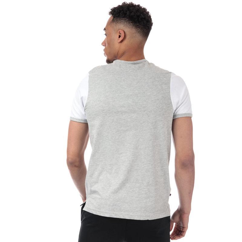 Tričko Luke 1977 Mens Ringer T-Shirt Light Grey