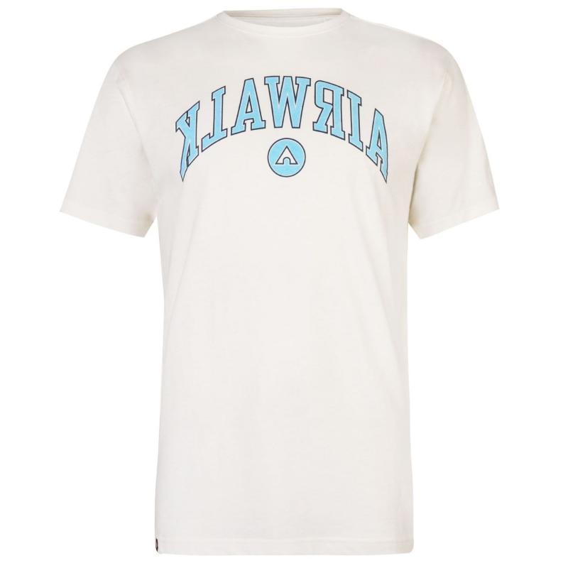 Tričko Airwalk Backwards T Shirt Mens White