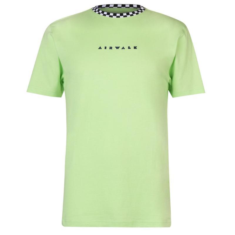 Tričko Airwalk Embroidery Logo T Shirt Mens Navy