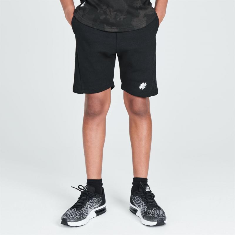 Kraťasy Five Street Fleece Shorts Junior Black