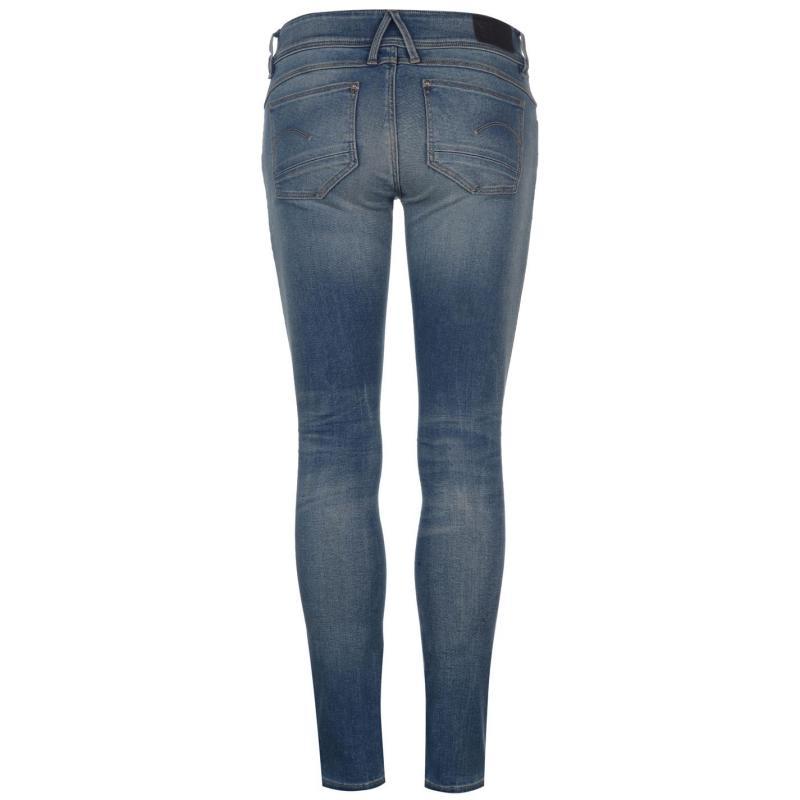 G Star Lynn Zip Mid Skinny Jeans Womens medium aged
