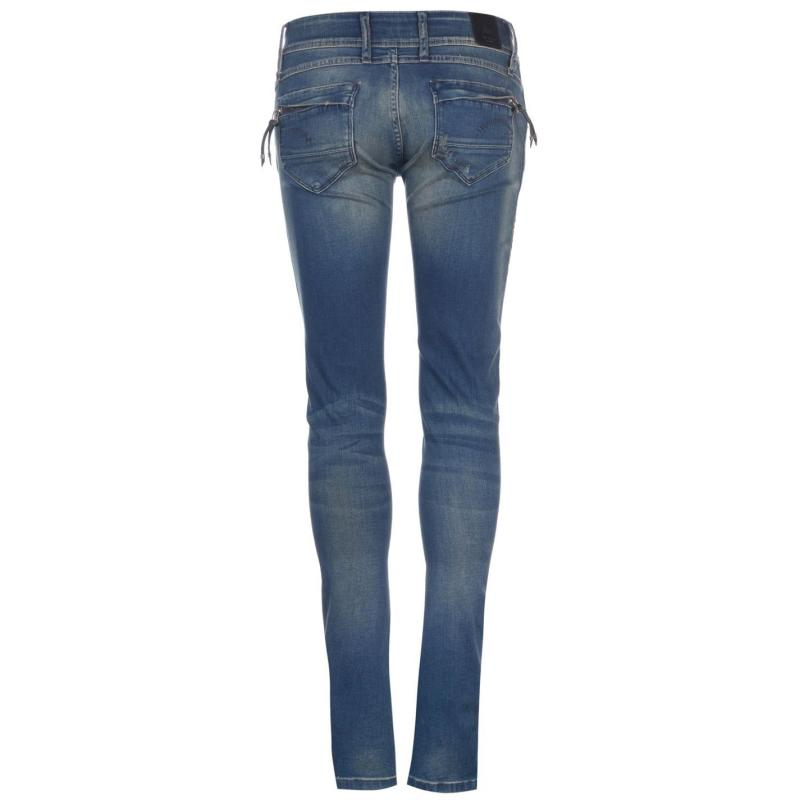G Star Mid Jeans Womens power Wash