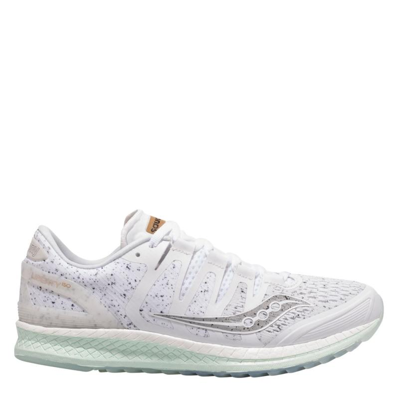 Saucony Liberty ISO Running Shoes Ladies White Noise