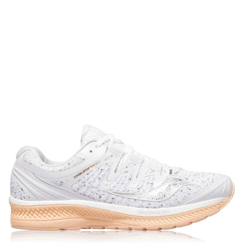 Saucony Triumph ISO 4 Running Shoes Ladies White Noise