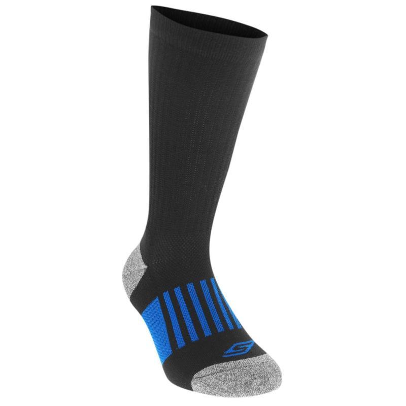 Ponožky Skechers Performance Division 3 Pack Crew Socks Junior Boys Black