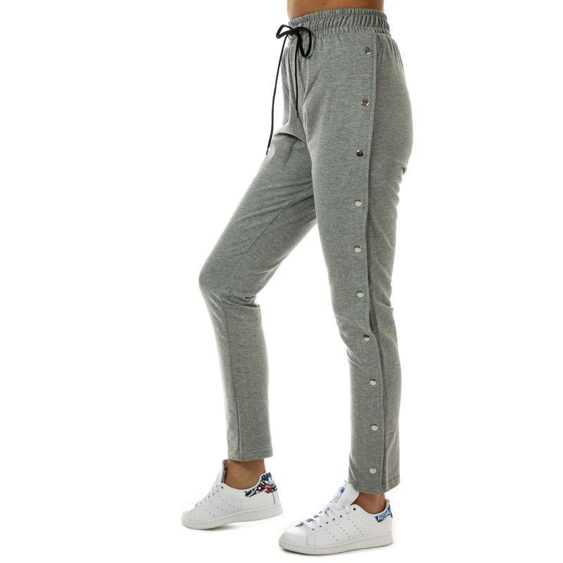 Sportovní kalhoty Daisy Street Womens Jog Pants Grey Marl